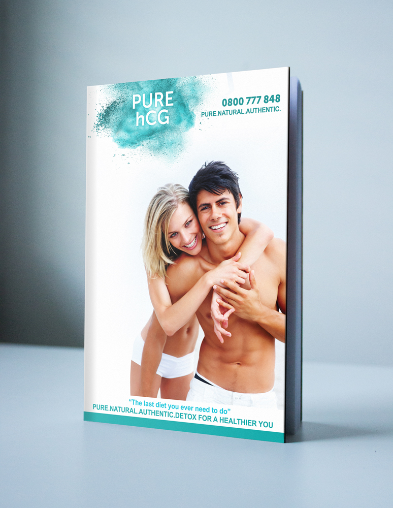 Original Book Cover New - Pure HCG