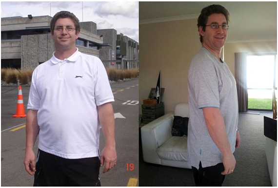 Brian after his Pure hCG Protocol journey feeling great - Pure hCG