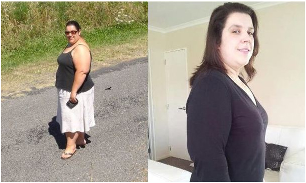 Caroline lost 39.7kgs with pure hcg