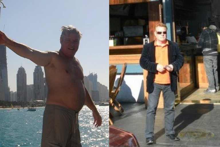 Alan Before and After Pure hCG Protocol - Pure hCG