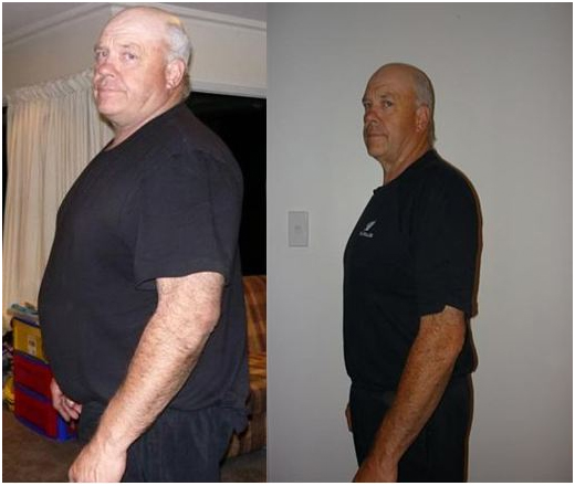 Kerry after his journey on Pure hCG Protocol. PURE.NATURAL.AUTHENTIC. A magical solution for weight loss - Pure hCG