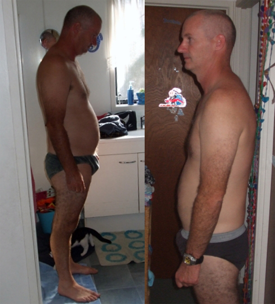 Mike before and after Pure hCG the PURE.NATURAL.AUTHENTIC. hcg drops and full protocol that changes lives