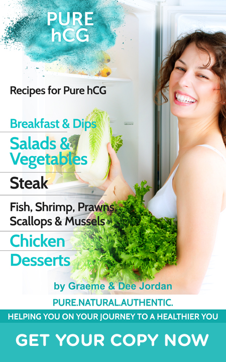 pure hcg recipe book